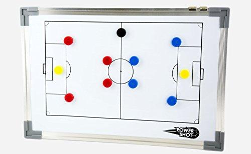 Pizarra magnética PARA la ESTRATEGIA del fútbol [SUPER] **ACCESORIOS INCLUIDOS** (30 x 45 cm)