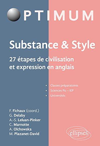 27 étapes de civilisation et expression en anglais