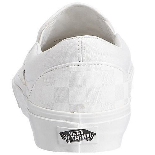 Vans VZMRFJH, Unisex Adults' Low-Top Sneakers, White (Checkerboard True White), 12 UK (47 EU)