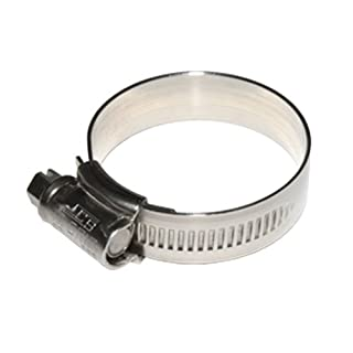 1 x JCS HI-GRIP HOSE CLIPS SIZE 35 STAINLESS STEEL 25-35mm JUBILEE TYPE 1 by All Trade Direct