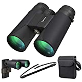 High Power Binoculars, Kylietech 12x42 Binocular for Adults with BAK4 Prism, FMC Lens
