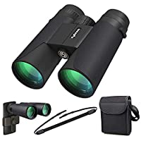 High Power Binoculars, Kylietech 12x42 Binocular for Adults with BAK4 Prism, FMC Lens, Fogproof & Waterproof Great for Bird Watching Travel Stargazing Hunting Concerts (Smartphone Adapter Included) 10