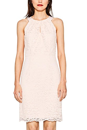 ESPRIT Collection Damen Kleid 057EO1E028, Rosa (Light Pink 3 692), 36