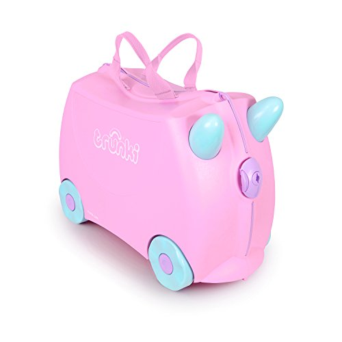 Trunki 10110 - Equipaje infantil, 18 liters, color rosa