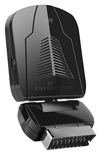 Energy Sistem SD3 – Sintonizador TDT (cabezal pivotante 360º, grabador, EPG, USB), color negro