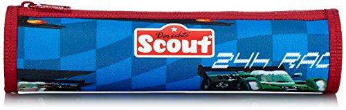 Scout Schulranzen-Set Schlamperrolle 24h Race 22 cm Blau 61470038100
