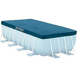 INTEX Bâche de protection pour piscine tubulaire rect 4m x 2m