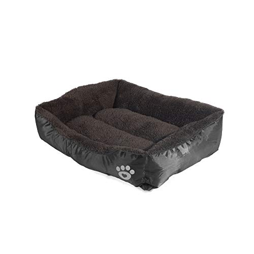 RENZE Hundebett, Hundekörbe Komfortables Katzenkissen Sofa Waschbar Oxford Stoff Atmungsaktiv Wasserdicht