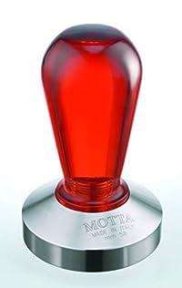 Motta Rainbow Coffee Tamper, Red