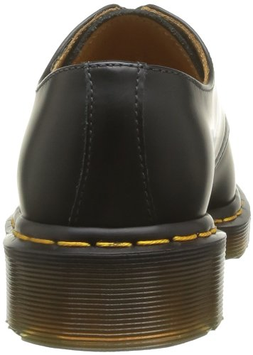 Dr. Martens 1461Z DMC SM-CR DMC SM-CR Scarpe Basse Stringate, Unisex Adulto, Nero, 49.5 Black Leather