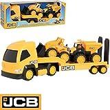 Brand New JCB Mega Transporter Truck Christmas Gift
