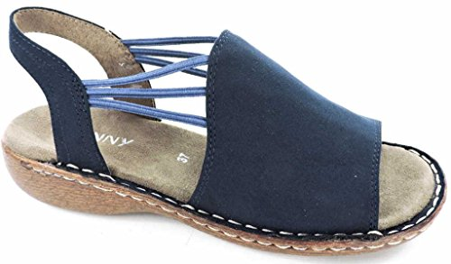 Jenny 22-57252-02, Sandali donna Blu (blu)