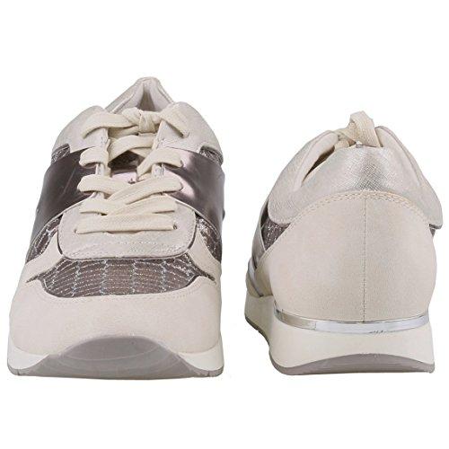 Tamaris , chaussons d'intérieur femme Weiß (Shell Comb 424)