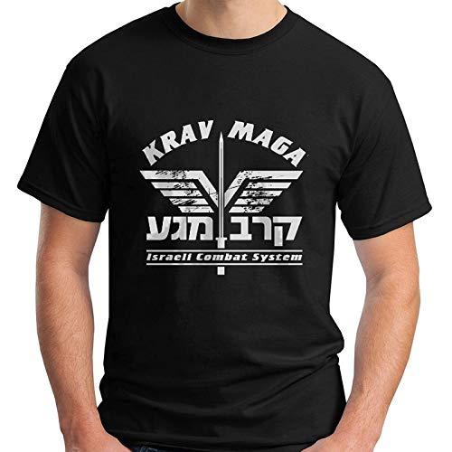 858bc0a088bdc New Krav Maga Self Defense IDF Israel Martial Art Black Men's T-Shirt