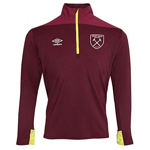 Umbro West Ham United Half Zip Top 2018/19 (Adults) -2X-Large