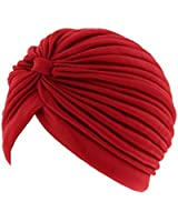 Zac's Alter Ego® Pleated Vintage Style Turban - Ideal For Hair Loss, Chemo or Fashion