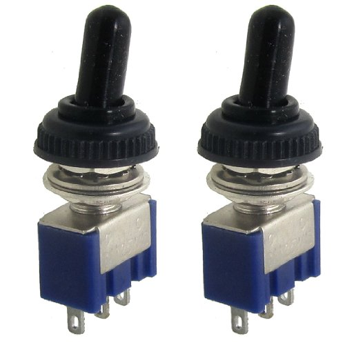 SOURCING MAP 2 Pcs 125V 6A ON/ON 2 Posición