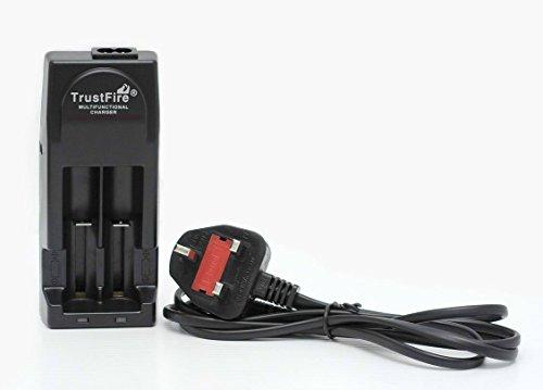Genuine TrustFire par IdealVape - TR-001 Chargeur de Batterie IMR LI-ION Multifonction - Noir