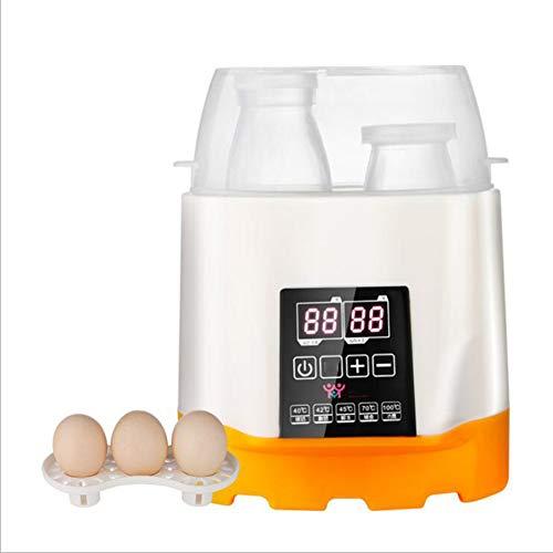 Botella de leche caliente Botella doble leche caliente cuatro en uno Termostato...
