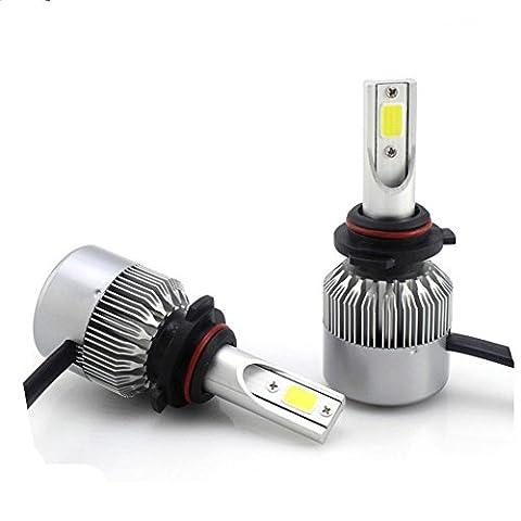LED Scheinwerfer Birnen LED Auto Scheinwerfer Birnen - COB Perlen 36W 4000LM LED Auto Scheinwerfer Umbausatz Ersatz für Halogen-C6 , 9005