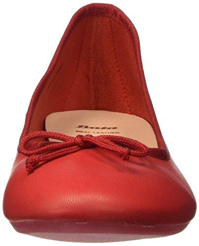 Bata 5245144, Ballerine Donna Rosso