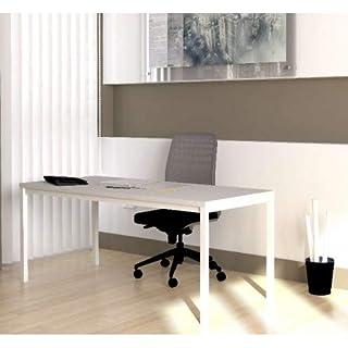DESKandSIT Tisch Arbeit Sofortige Lieferung in Förderung mop72001 180x80cm weiß