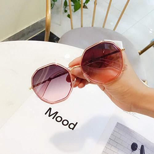 Sonnenbrille Damen Persönlichkeit rundes Gesicht schlanke Sonnenbrille weiblichen koreanischen Mode UV-Schutz Sonnenschirm Brille Outdoor-Sport eyewear-4