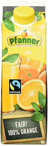 Pfanner Saft, 1 l - Getränke Orangensaft