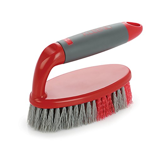 Cello Kleeno Tile Scrubber Brush (Red and Grey)