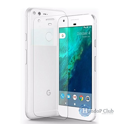 Ultra Thin unbreakable flexible Tempered Glass Screen Protector for google pixel 5.5 XL by HundoP Club  available at amazon for Rs.134