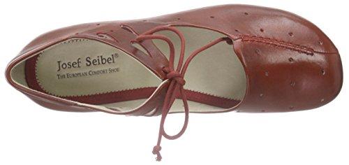 Josef Seibel Fiona 09, Damen Knöchelriemchen Ballerinas, Rot (rubin), 40 EU -