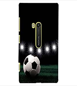 ColourCraft Football Design Back Case Cover for NOKIA LUMIA 920