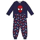 Pigiama Blu Spiderman Marvel - 3-4 Anni 104 cm