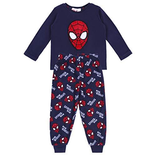 Pigiama blu spiderman marvel - 4-5 anni 110 cm