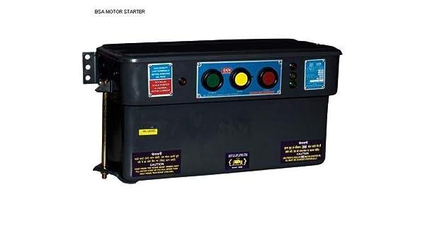 Skn Bentex Semi Automatic Star Delta Oil Immersed Motor Starter Type Bcsa 400v 25 H P Amazon In Home Improvement