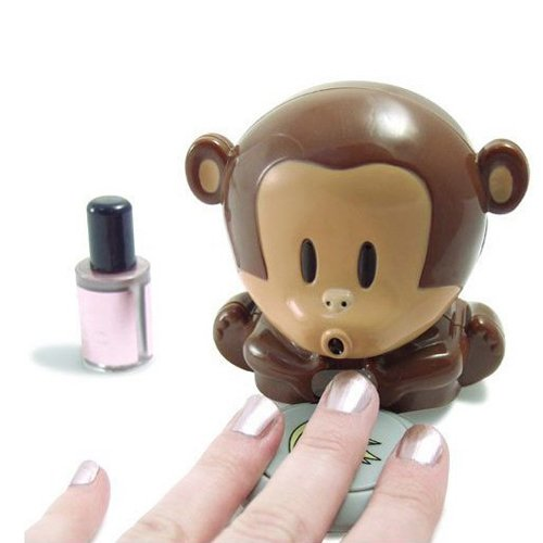 Hd Design Cute Monkey Shaped Manicure Nail Polish Blower Dryer by HD DESIGN