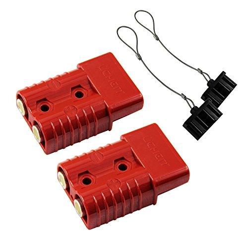 Akku Schnelle verbinden/trennen Kabelbaum Plug Stecker Recovery seilwinde Trailer 2-4Gauge -