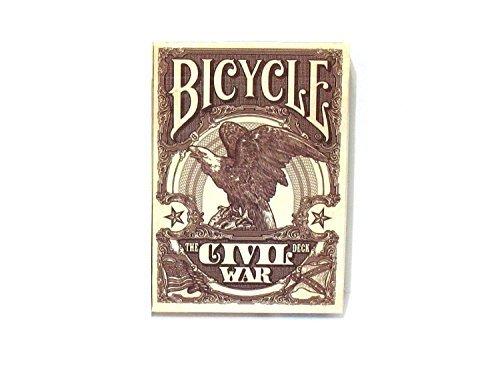 Bicycle civil war, 1 mazzo carte da gioco, rosso