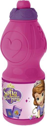 Joy Toy 749132 - Disney Sofia Sportflasche, 400 ml, 6 x 6 x 18 cm