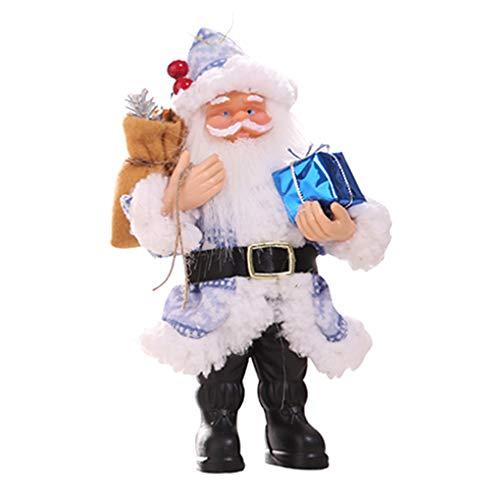 Zerama Resina Babbo Natale attaccatura della Bambola del Regalo di Natale Figurine Decorazione della tavola di Natale Albero di Natale del Regalo dei Bambini Giocattolo a Sospensione