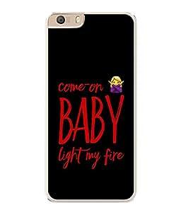 PrintVisa Designer Back Case Cover for Micromax CanvasKnight2E471 (comeon baby light my fire)