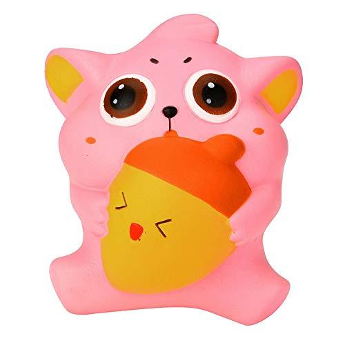 Honestyi Squishy Stress Spielzeug Squishies 10cm niedliche Kitty Creme duftenden Squishies langsamen aufsteigenden squeeze-Gurt Kinderspielzeug Geschenke