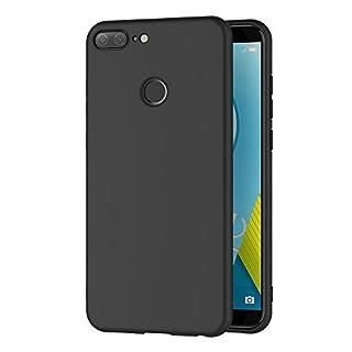 AICEK Honor 9 Lite Hülle, Schwarz Silikon Schutzhülle für Huawei Honor 9 Lite Case TPU Bumper Honor 9 Lite Handyhülle (5,65 Zoll)