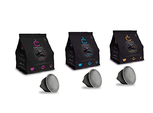 Caffè cremeo kit assaggio 30 capsule compatibili con sistema nescafè dolce gusto - mix degustazione caffè miscele magia, incanto e arabica espresso bar