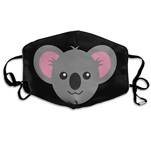 Reusable Mund Maske, Face Mask, Cute Monkey Face Outdoor Protective Face Mund Maske Suitable for Ski Cycling Camping Masks (Mask Monkey Face)
