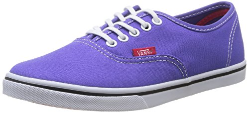 Sneaker Vans Vans U Authentic Lo Pro - Zapatillas de deporte de canvas para mujer Morado Violet (Purple Iris/Rose Red) 38