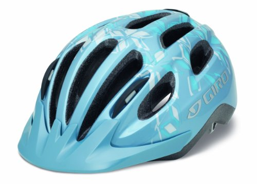 Giro Damen Fahrradhelm Venus II, blue/white, 54-57 cm