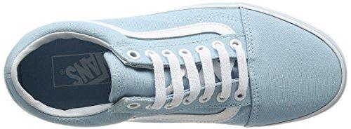 Vans Damen Ua Old Skool Sneakers Blau (Crystal Blue/true White)