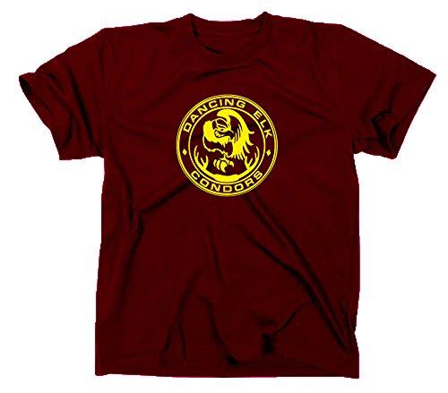 """Styletex23 - Maglietta con scritta """"Dancing Elk Condors"""", come da film """"Juno"""""""