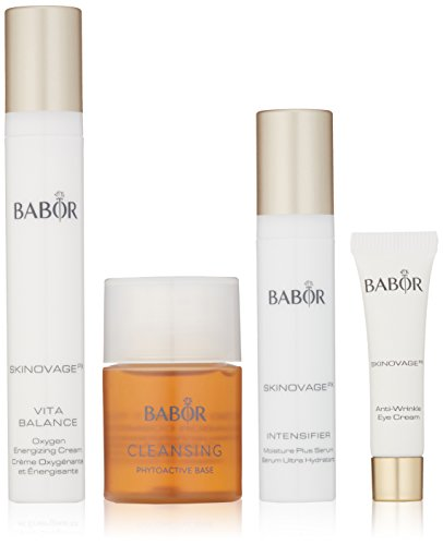 BABOR Gesichtspflege Skinovage PX Travel Set Cleansing CP Hy-Öl 50 ml + Cleansing CP Phytoactive Base 30 ml + Skinnovage PX Oxygen Energizing Cream 15